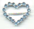 Rhinestone Buckle[Heart]