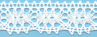 "1 1/4"" Cluny Lace"