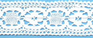 "1 1/8"" Cluny Lace"