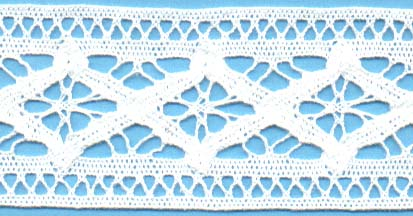 "2 ""Cluny Lace"