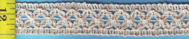 "1"" Cotton cluny"