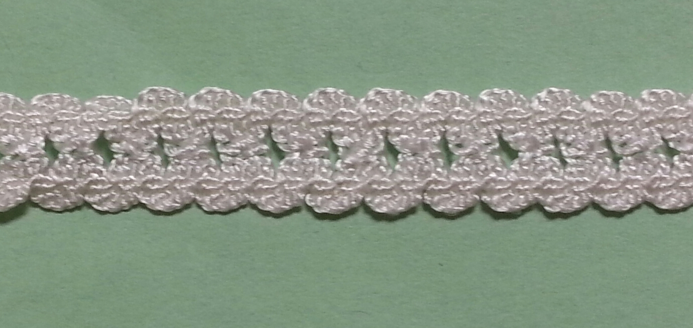 "1/2"" Stretch cluny lace"