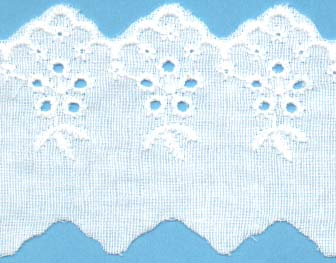 "2"" Eyelet Cotton Lace"