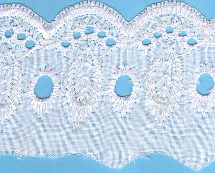 "2 1/4"" Eyelet Cotton Lace"