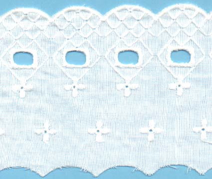 3 1/2 Eyelet Cotton Lace