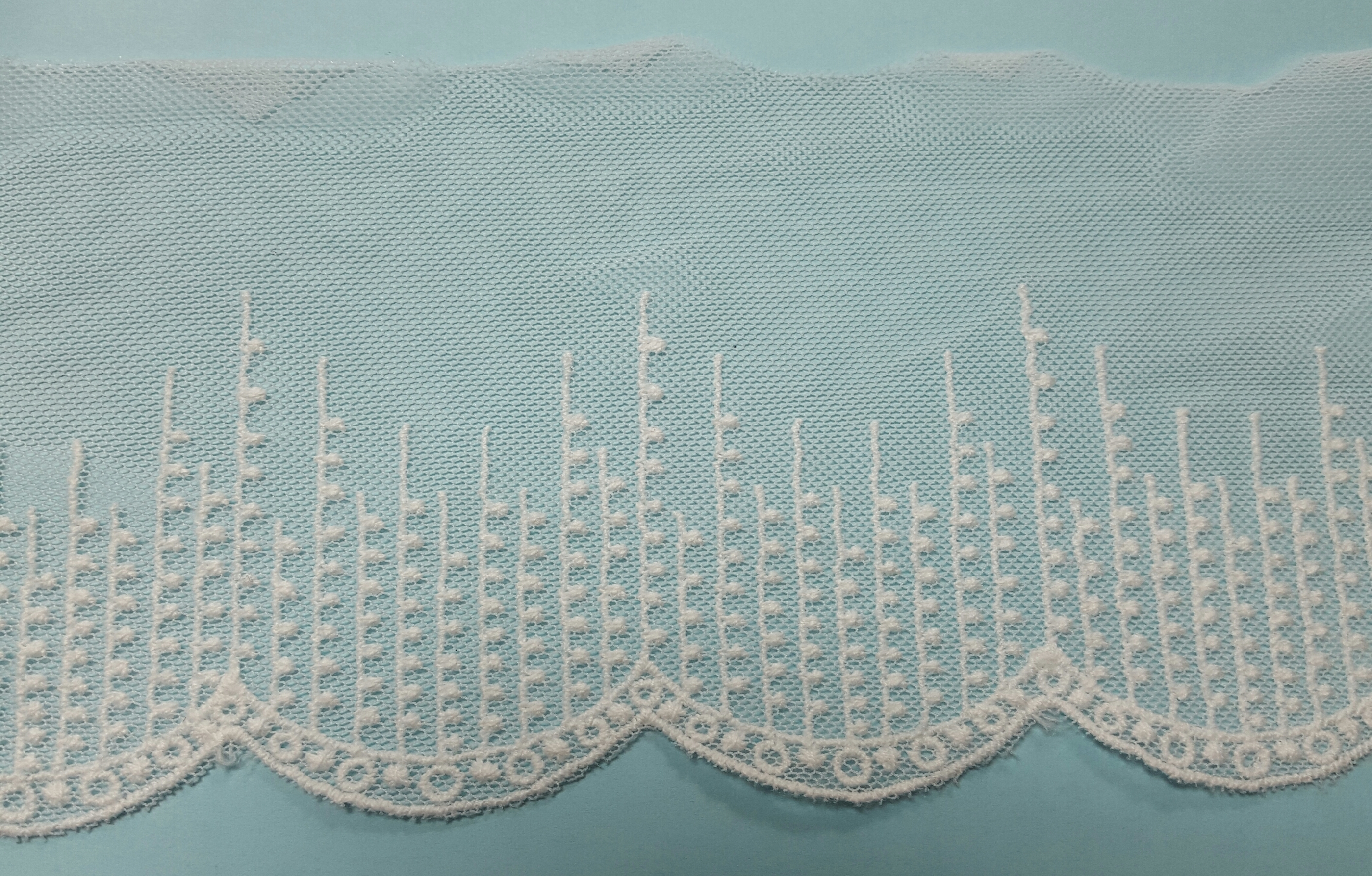 "4"" Cotton Embroidery Lace"