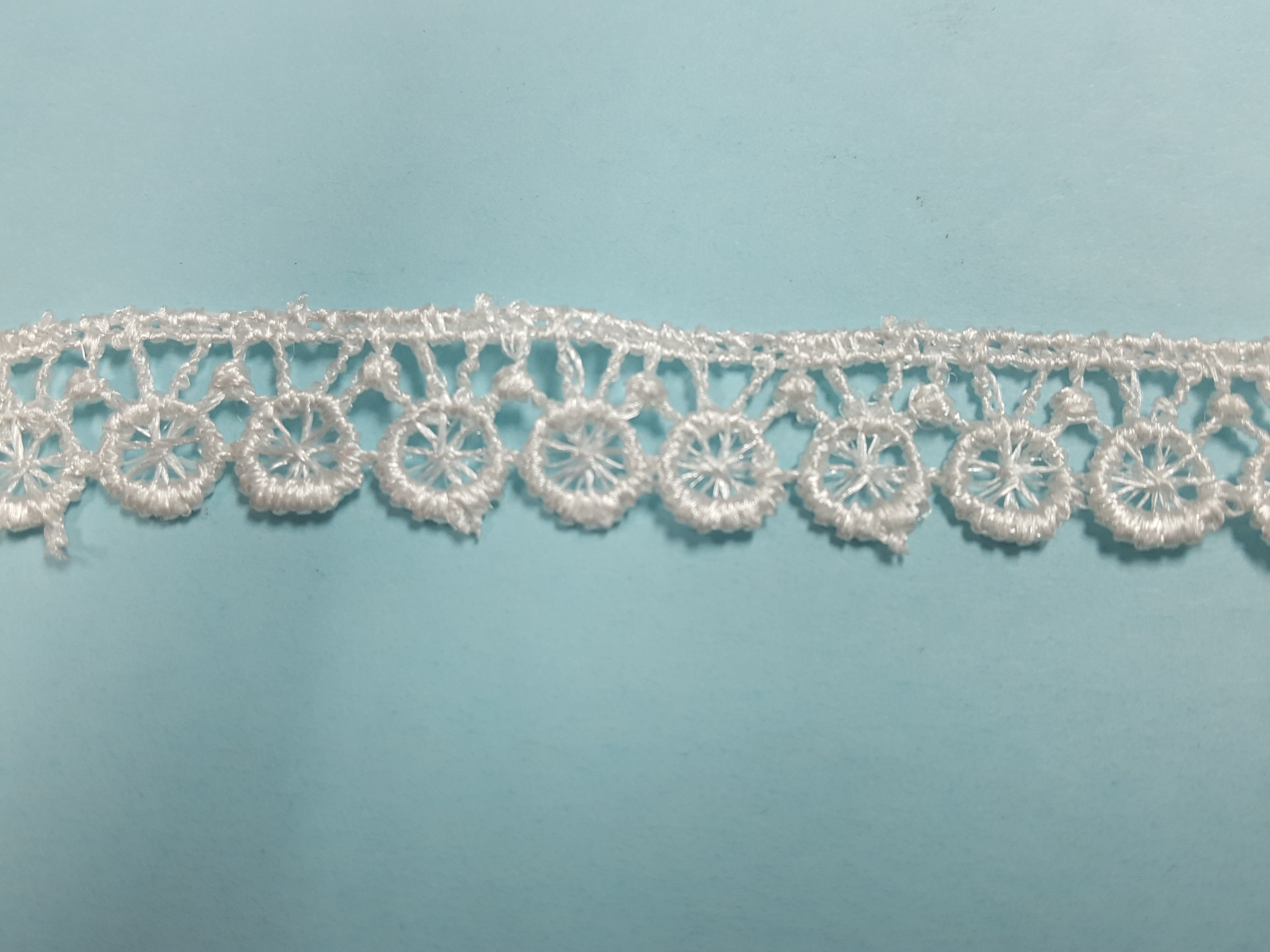 "1/2"" Milky Lace"