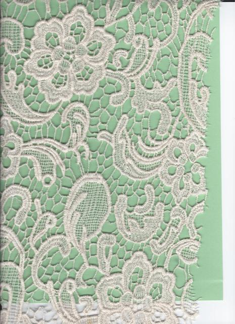 Cotton Venise all over fabric