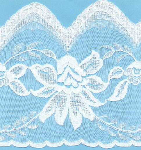 "5"" Poly Lace"
