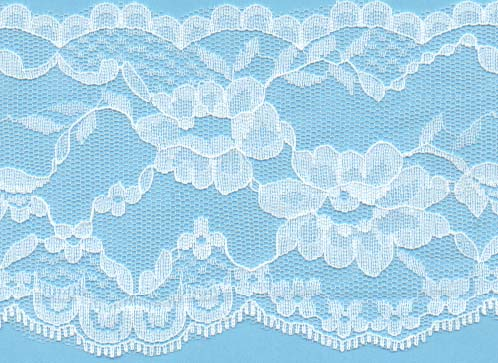"3 1/2"" Poly Lace"