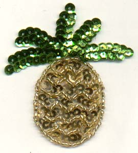 Pineapple Sequin Patch