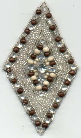 Wood Beads Patch
