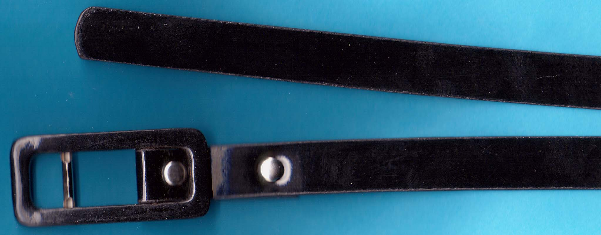 "5/8"" Leather belt"